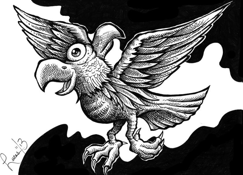 Werg Bird_BW