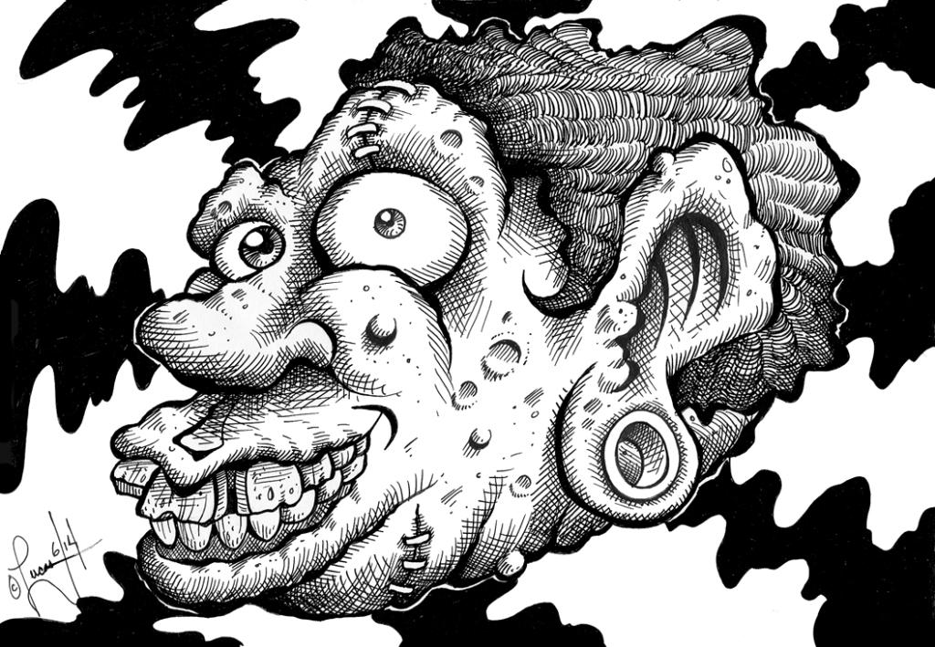 weirdo head