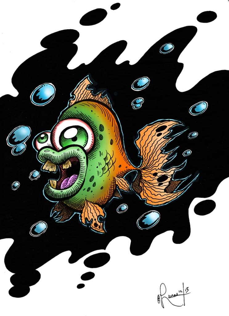 Zombie FishConceptArtBLOG