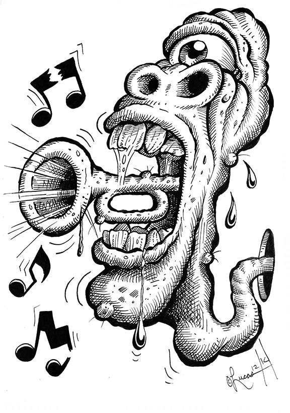 horn mouthBLOG