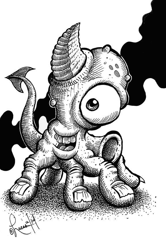 Horned MonsterBLOG