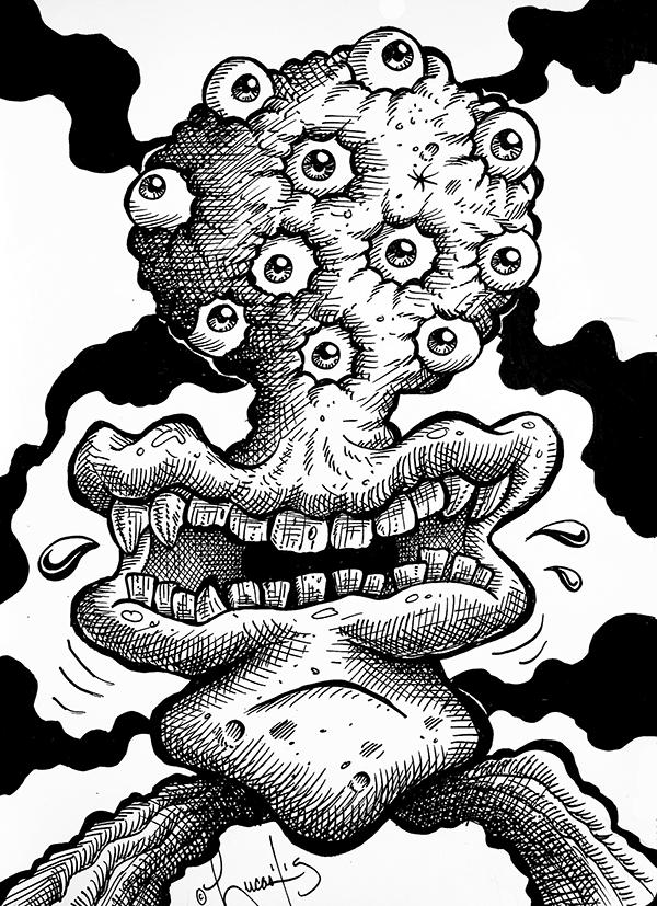 Multi-eyed GuyBLOG
