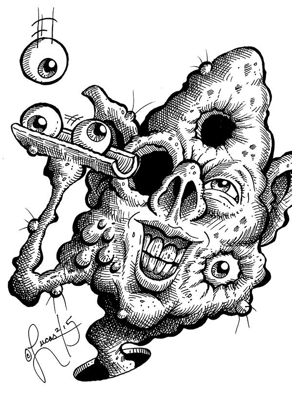 Eyeball Freak BLOG