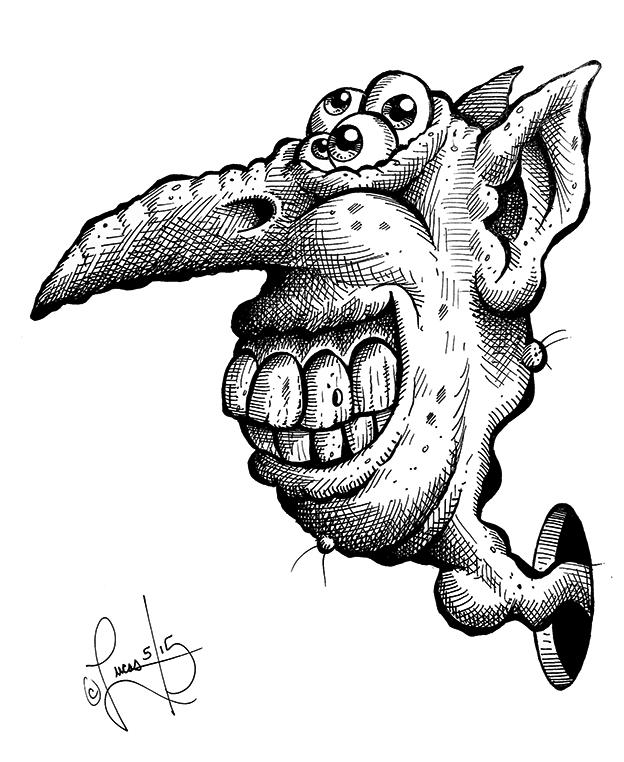 Beak Nose Bongo BLOG