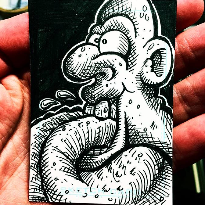 Sketch Card 28 BLOG