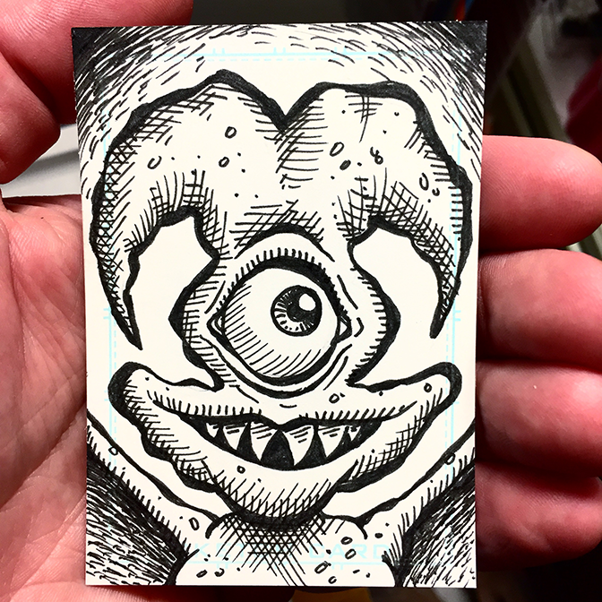 Sketch Card 33 BLOG