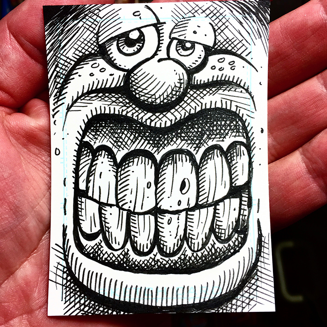 Sketch Card 41 BLOG