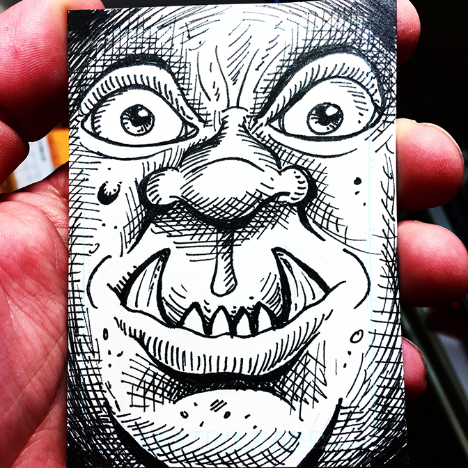 Sketch Card 42 BLOG