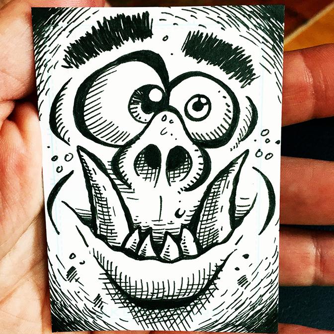 Sketch Card 45 BLOG