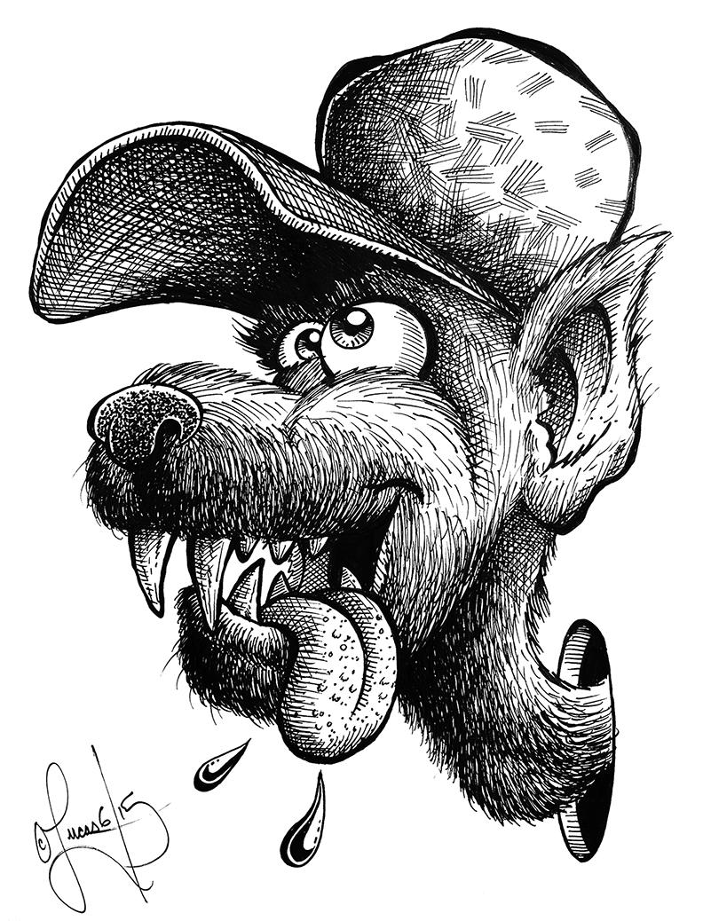 Wacky Wolfman BLOG