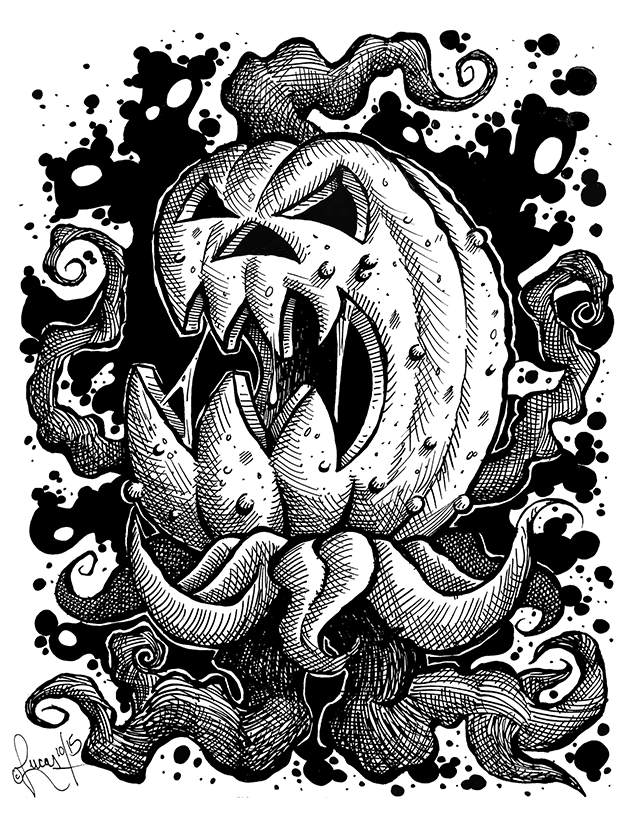 Monster Pumpkin BLOG