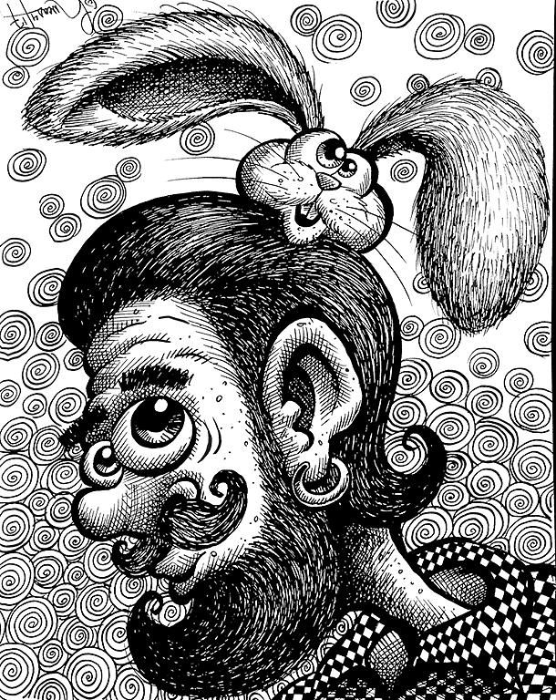 Man Bunny Sonny BLOG