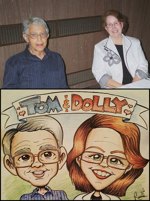 Tom and Dolly Caricature Comp
