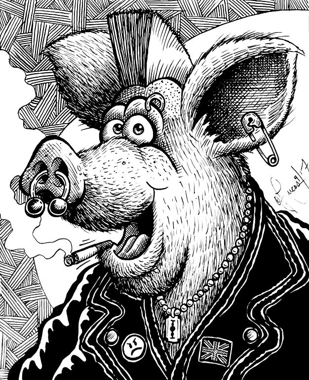 Porky Punk BLOG