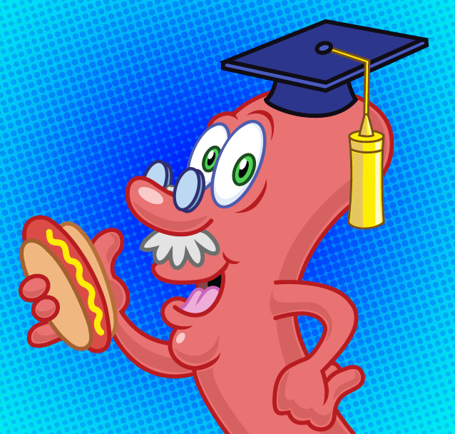Ask Professor Hotdog Social Media