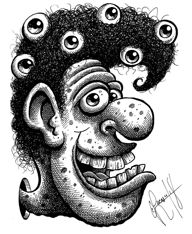 Weird Hairdo Lou BLOG